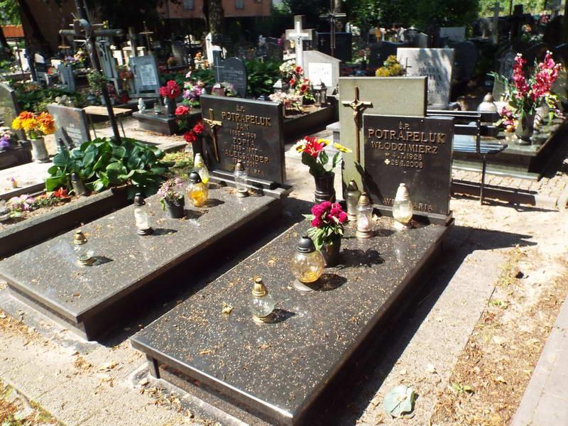 Поховання родини Потрапелюк