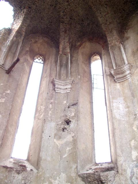 2003 р. Стіни вівтаря