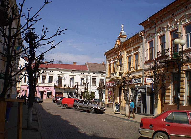 2018 р. Перспектива вул. Театральної