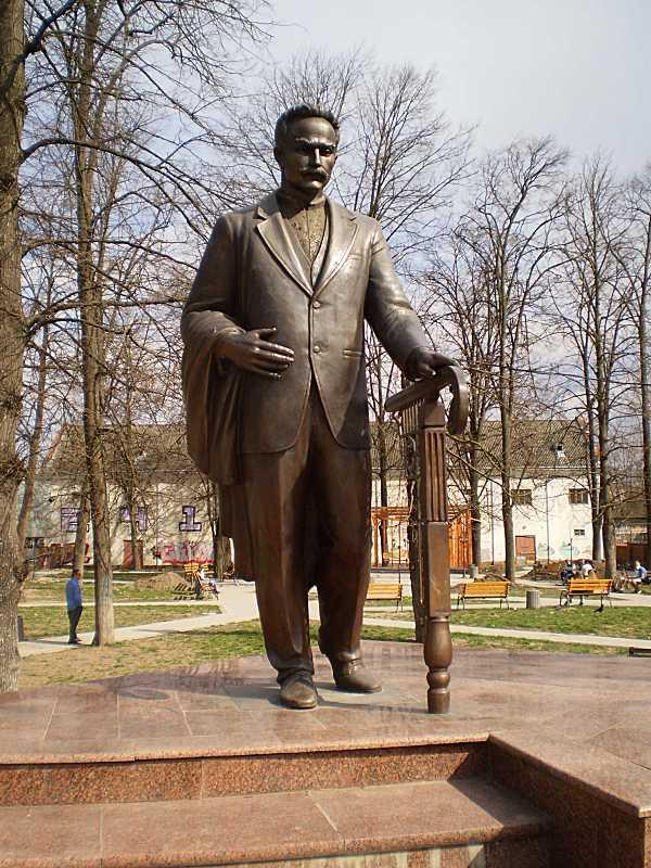 Памятник И. Я. Франко - 2012 г., Коломыя