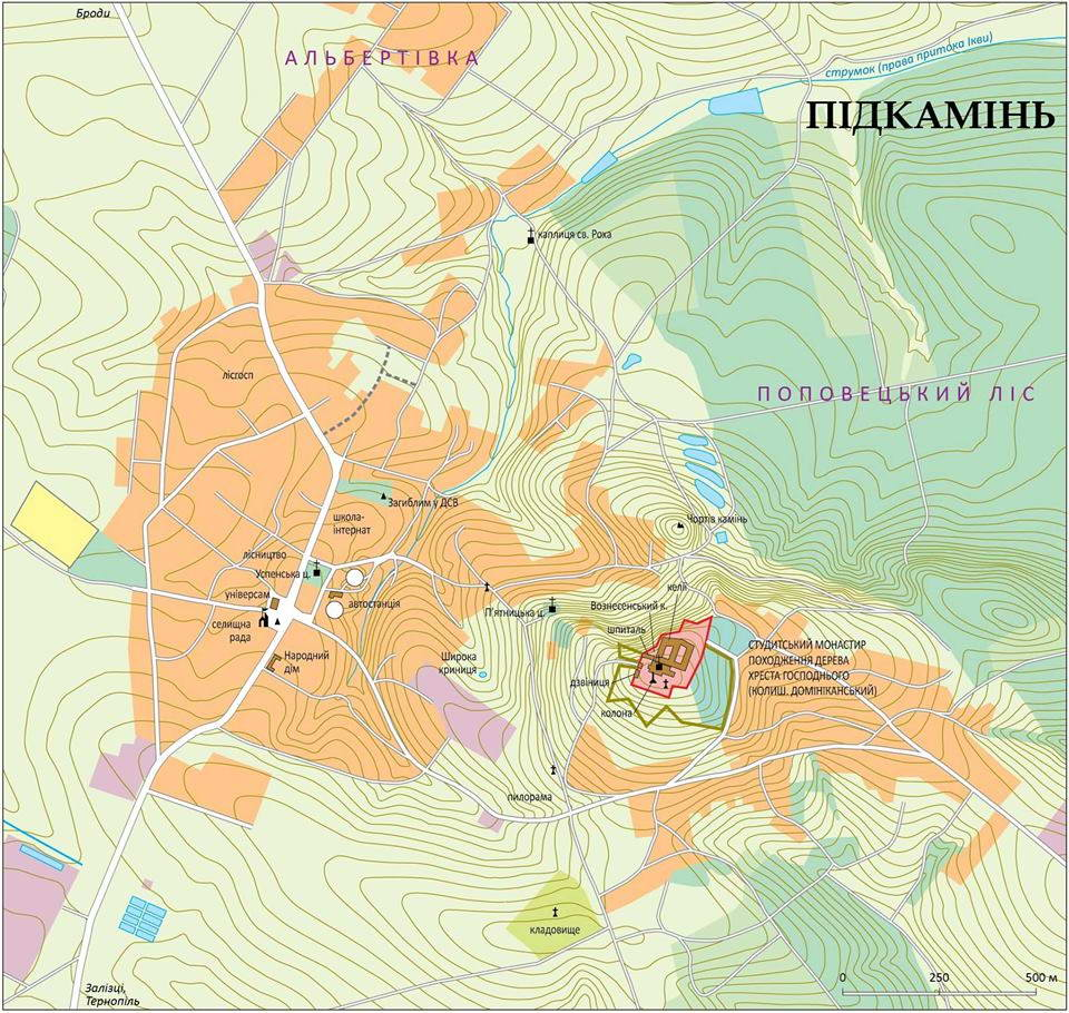 План м-ка Підкамінь
