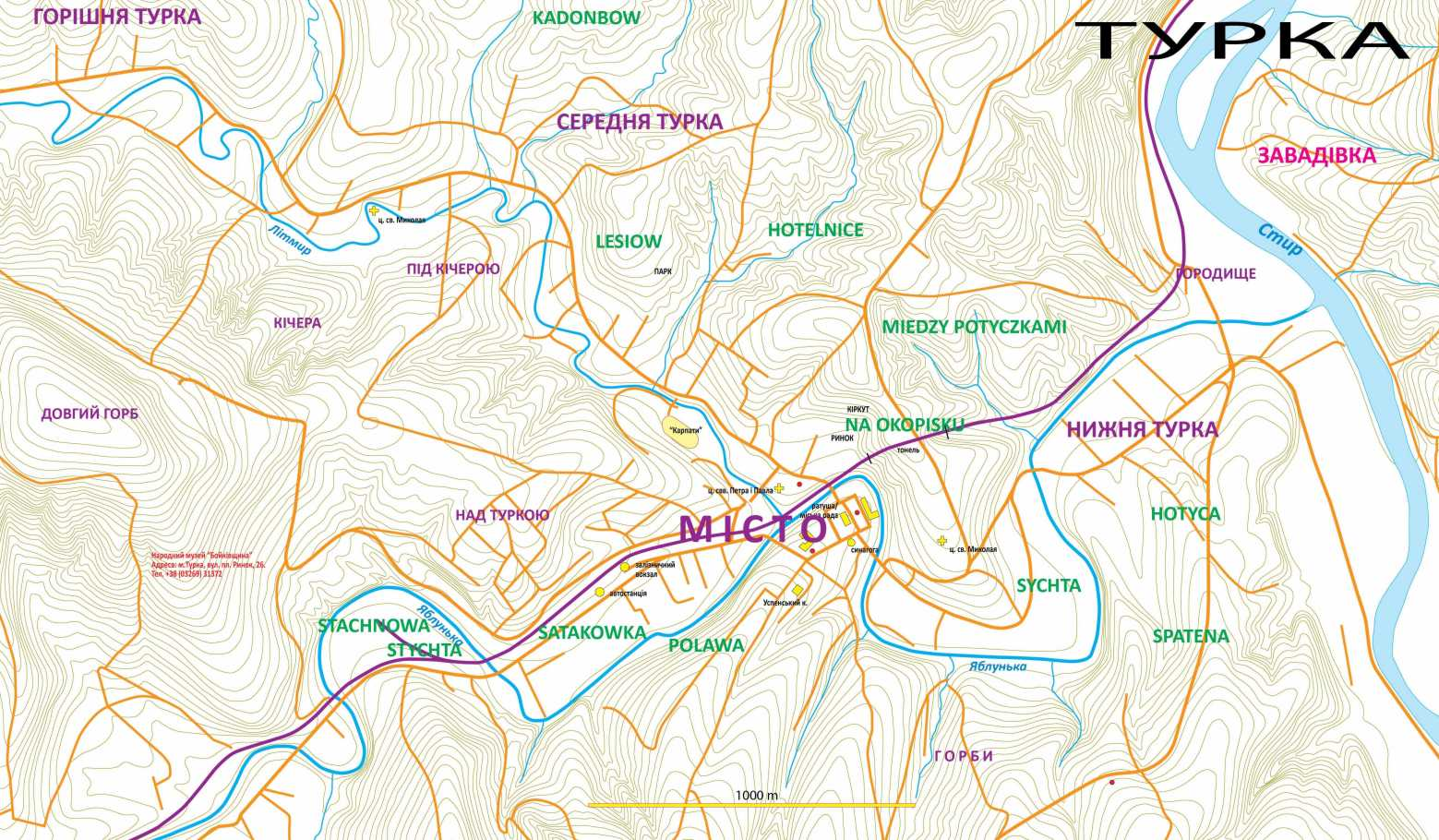План м. Турка
