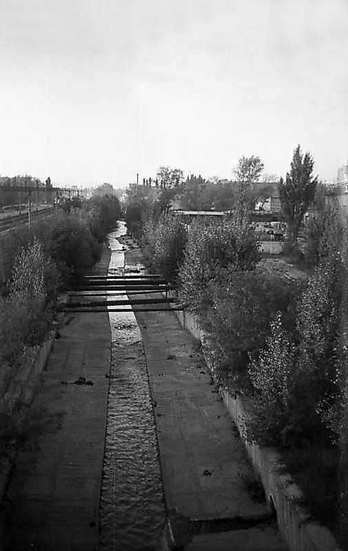1975 р. Річка Либідь біля Московської…
