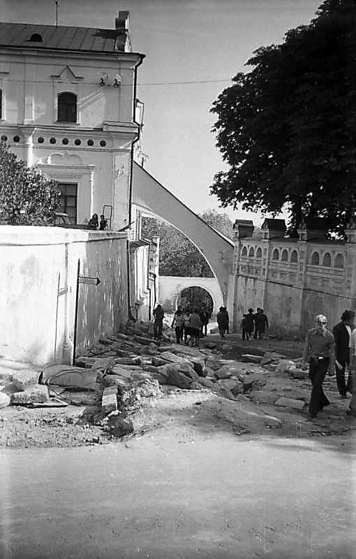 1975 р. Прохід з Верхньої лаври до…