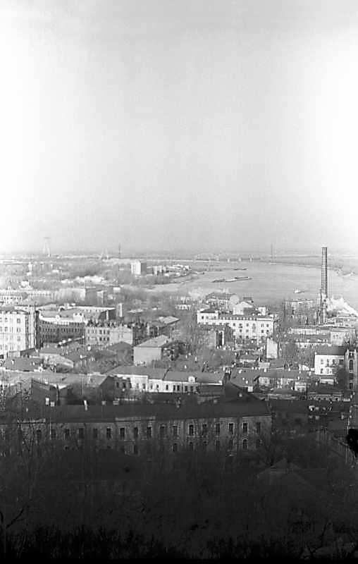 1975 р. Вид від Андріївської церкви на…