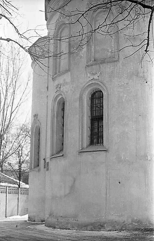 1976 р. Центральна апсида. Вигляд з…