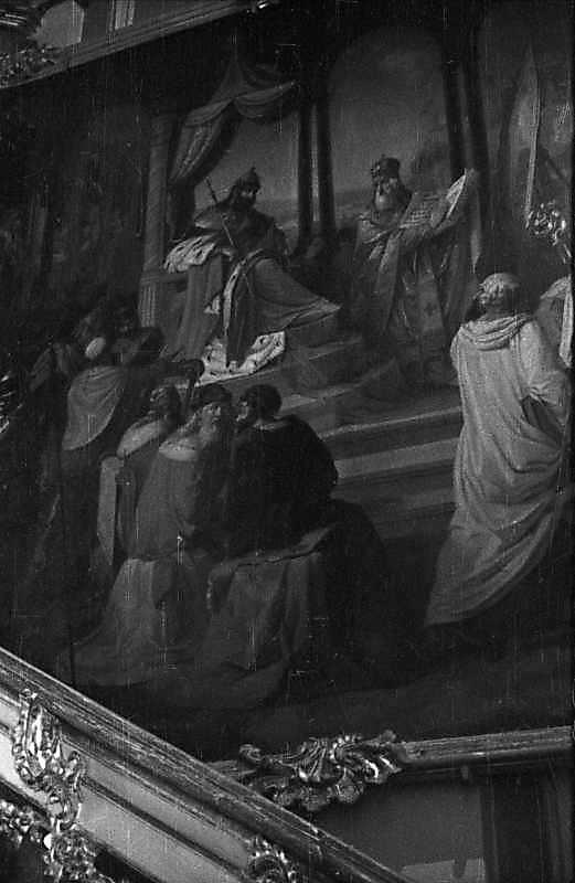 "1976 р. Фрагмент картини ""Вибір віри"""