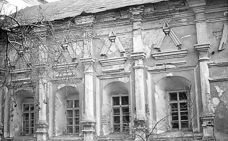 1976 р. Фрагмент північного фасаду