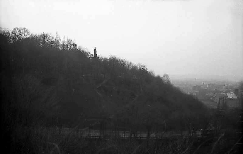 1976 р. Вид на Володимирську гірку з…