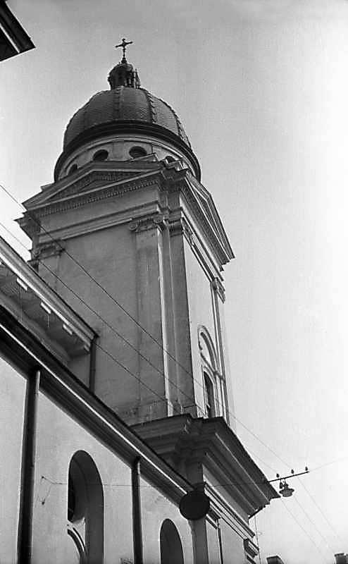 1976 р. Башта головного фасаду. Вигляд…