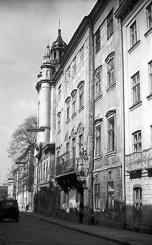 1976 р. Перспектива від будинку № 13 в бік вул.Краківської