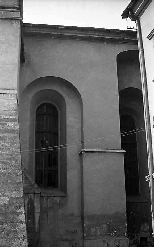 1976 р. Фрагмент південного фасаду…