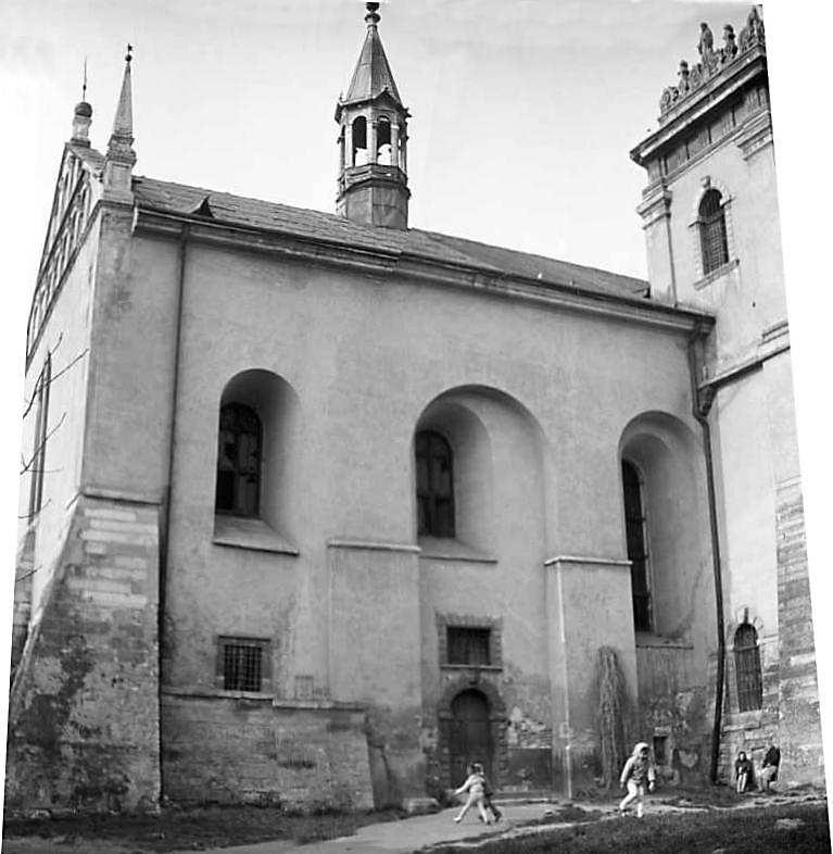 1976 р. Фрагмент південного фасаду.…
