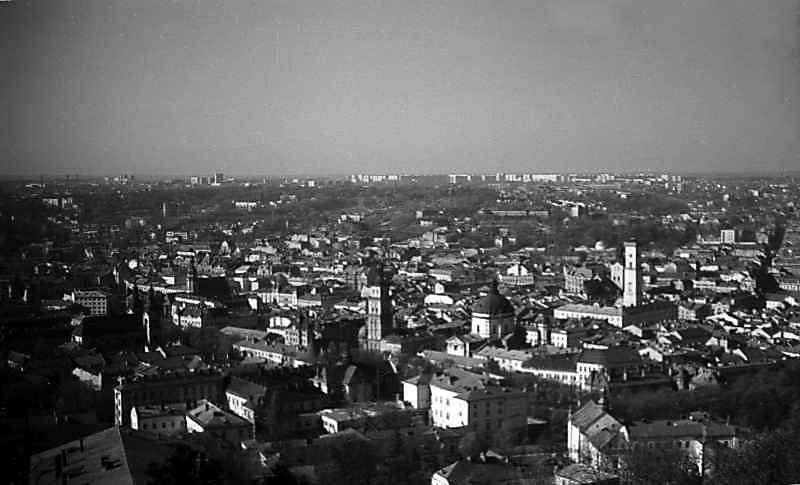 1976 р. Вид з Високого замку на…