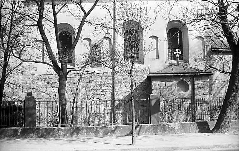 1976 р. Фрагмент бічного фасаду.…