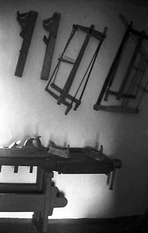 1976 р. Інтер'єр – столярний верстат