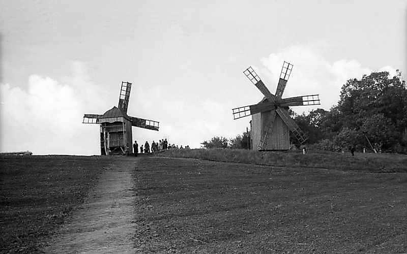 1976 р. Загальний вигляд вітряків 2 та 1