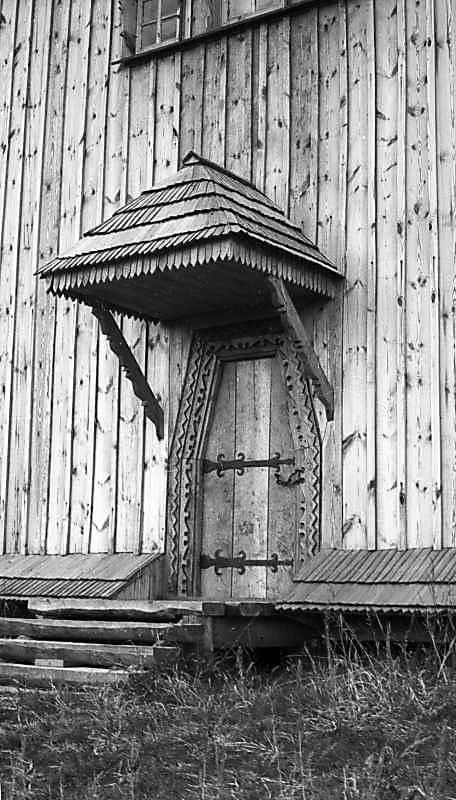 1976 р. Південні двері. Вигляд з…