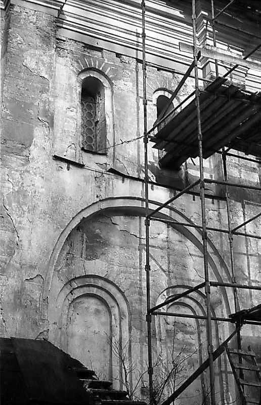 1976 р. Фрагмент південного фасаду