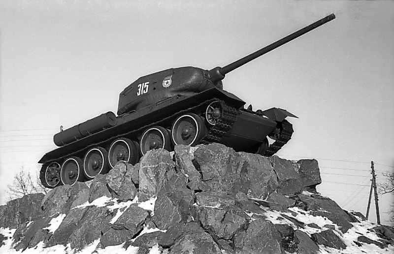 1977 р. Танк Т-34