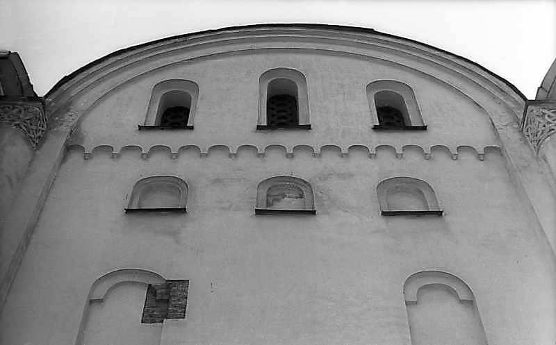 1977 р. Фрагмент західного фасаду
