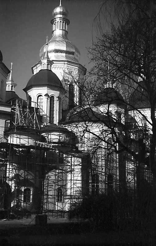 1977 р. Центральна частина північно-східного фасаду. Вигляд з північного сходу