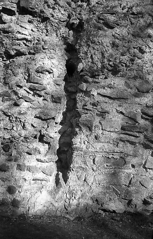 1977 р. Місце примикання колод зрубів