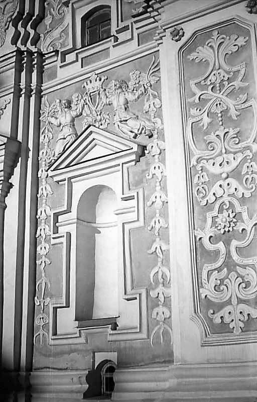 1977 р. Південно-західний фасад 1 ярусу. Фрагмент. Вигляд з південного заходу
