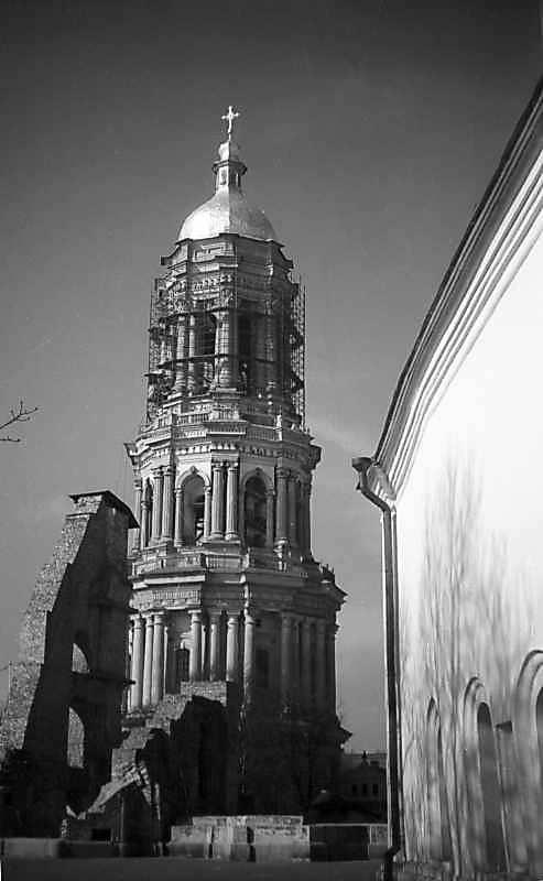 1977 р. Руїни Успенського собору,…