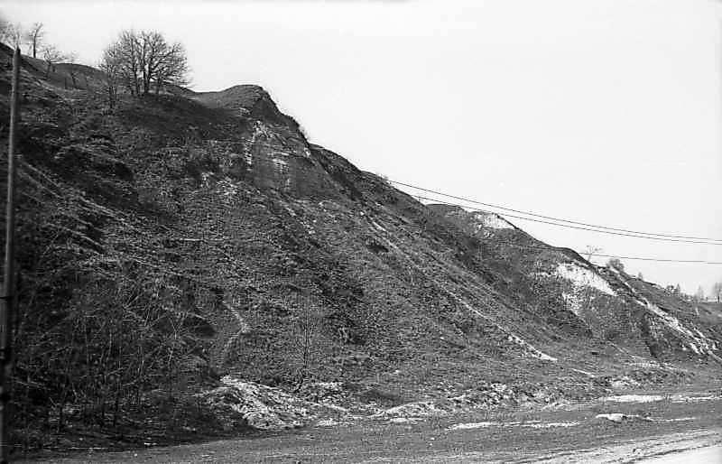1977 р. Схили городища