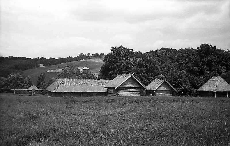 1977 р. Двір із с.Солов'ї і садиба із…