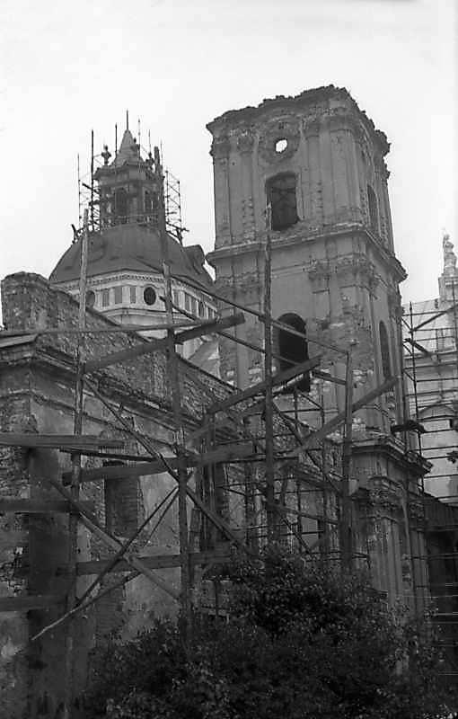 1977 р. Південно-східний фасад корпусу…