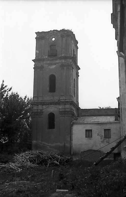 1977 р. Вигляд з боку двору, з північного заходу