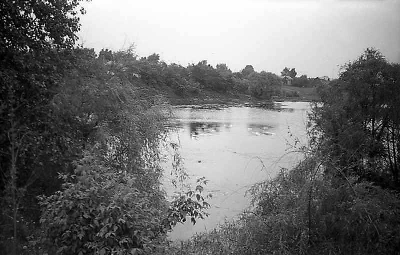 1977 р. Вид на р. Гнилоп'ять біля кляштору