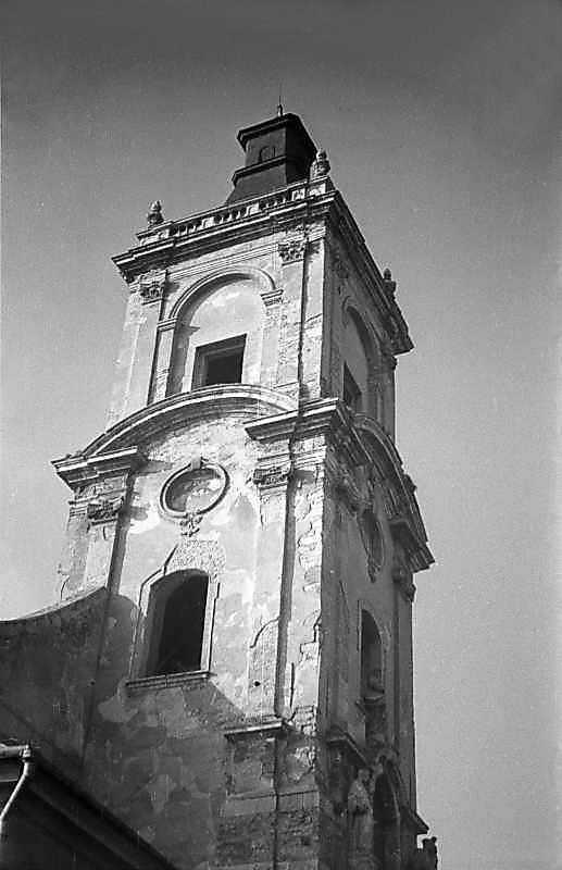 1977 р. Башта. Верхі яруси. Вигляд з…