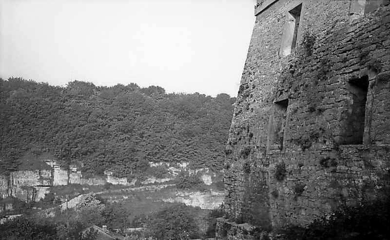1977 р. Фрагмент бічного фасаду