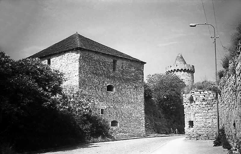 1977 р. Загальний вигляд з південного сходу (справа – Лянцкоронська башта)