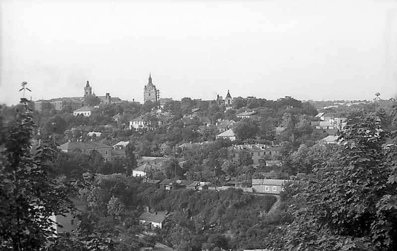 1977 р. Панорама центральної частини Старого міста з південного заходу