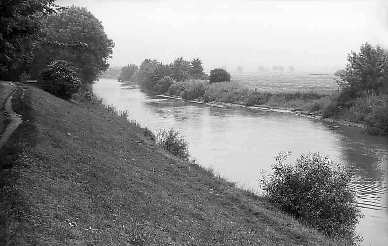 1977 р. Вид на ріку Стир біля замку
