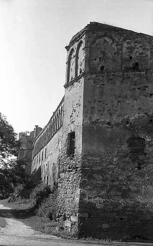 1977 р. Північне прясло східної стіни.…
