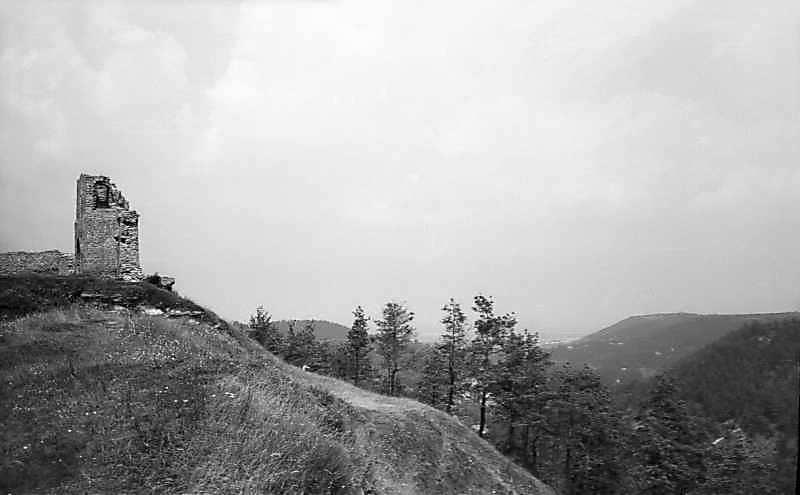 1977 р. Вигляд з півдня з панорамою гір
