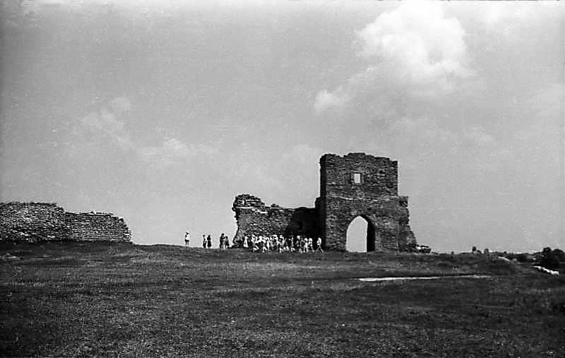 1977 р. Загальний вигляд двора із заходу
