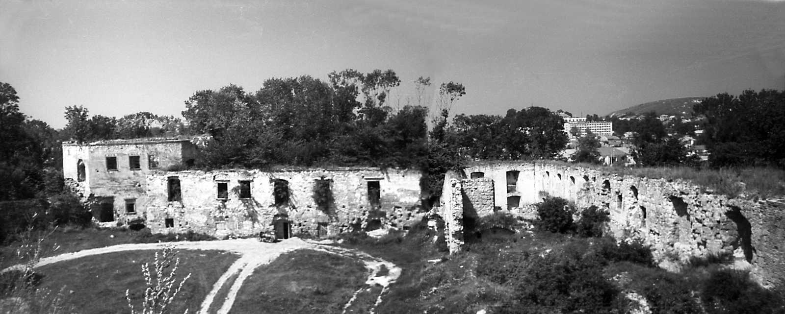 1977 р. Башта 6, корпуси 15 і 13. Вигляд зі сходу