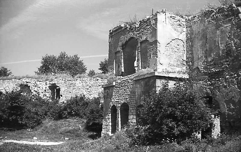 1977 р. Корпус 13 і башта 1. Вигляд з півдня
