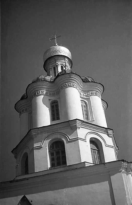 1977 р. Дзвіниця. Вигляд із заходу