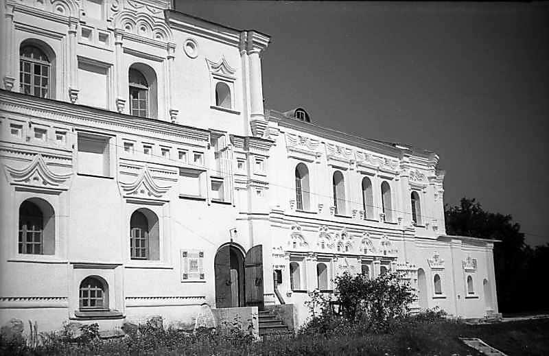 1977 р. Фрагмент південного фасаду. Вигляд з південного заходу