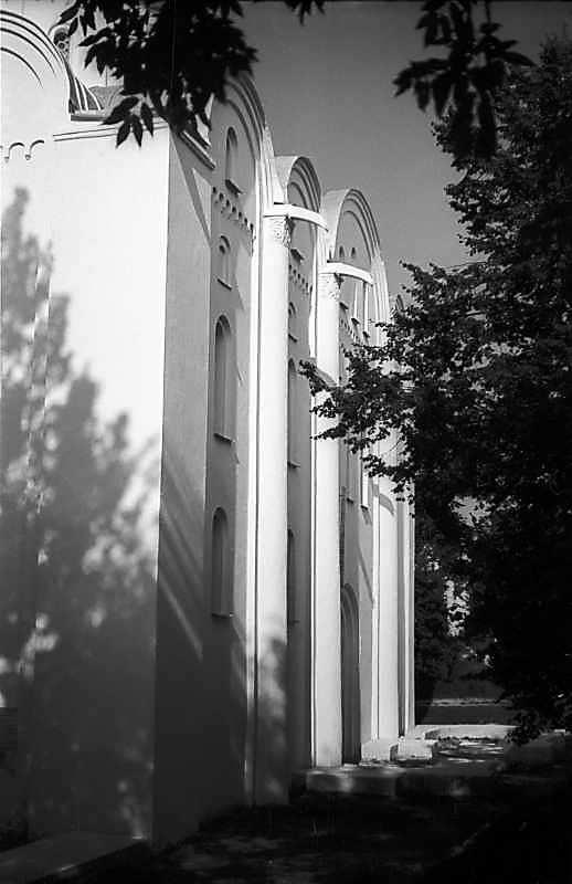 1977 р. Південна стіна. Вигляд із заходу