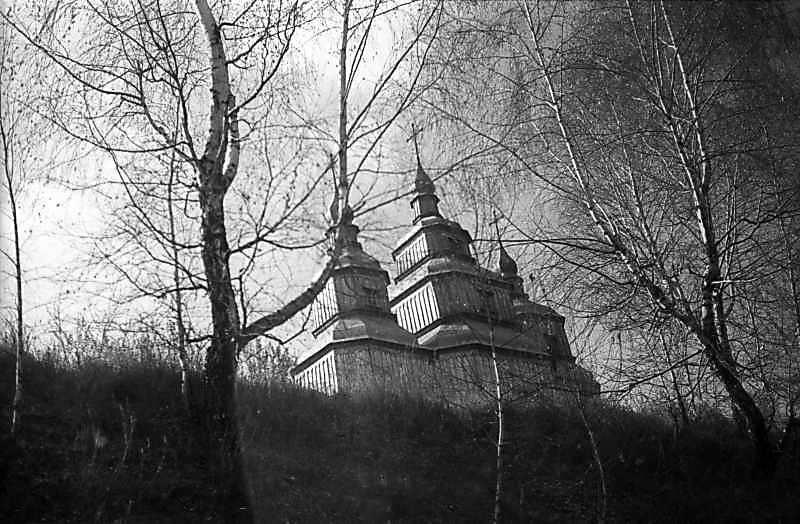 1977 р. Верхи. Вигляд з північного сходу