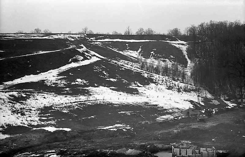 1978 р. Хотівське городище. Вигляд зі…