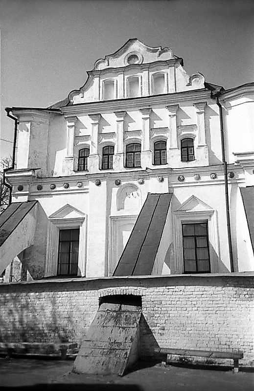 1978 р. Фрагмент південного фасаду. Вигляд з півдня